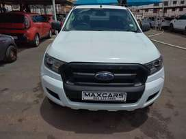 2017 white Ford Ranger 2.2 Manual transmission