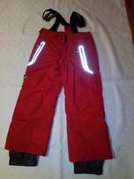 Spodnie zimowe narciarskie 122-133cm