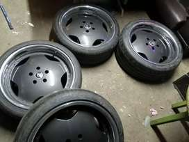 19inch RS Rims and Tyres