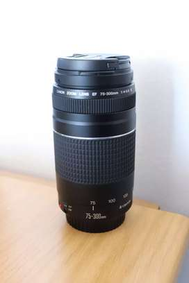 Canon Zoom lens 75-300mm new
