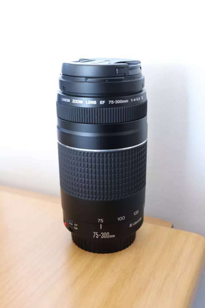 Canon Zoom lens 75-300mm new 0