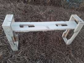Sitting Bench Hand made as Art