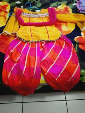 Indian traditional  out fit for girl kid age 4-5