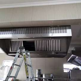 Stainless steel canopies, duct ductwork and ventilation