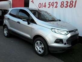 Ford Eco Sport1.5.  2015.  Silver