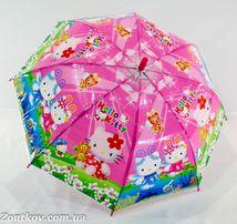 Детский зонт-трость с красочными рисунками