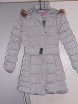 куртка зимняя на девочку 9--11 лет