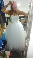 Suknia ślubna princessa kryształki