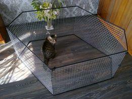 Вольер манеж клетка для небольших собак щенков кроликов котят и пр...