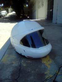 Image of Motorbike helmet. Size extra small suitable for a child