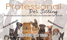 Professional PET Sitting. Offering peace of mind while you at wo