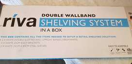 Double Wallband Shelving System in a box.
