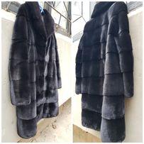 Норковая шуба Греция Kopenhagen Platinum Burgundy Fur.Новая!!!