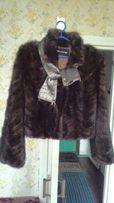 Шуба,куртка, норковая 48р,новая!!!
