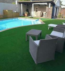 We install Synthetic grass...paving and Natural roll Lawns grass