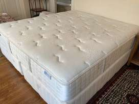 Sealy posturepedic Roma bed extra long super king 2m length 1.8m wide