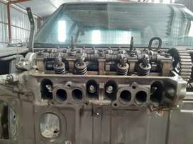 Honda pop up head for sale and engine parts of a complete car