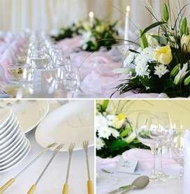 Event planning & we hire out catering equipments