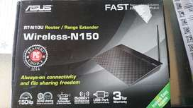 Asus wireless N150 router/rang