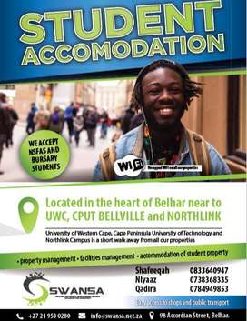 R 2,500 Student Accommodation - Belhar, Cape Town, UWC, CPUT, Northli
