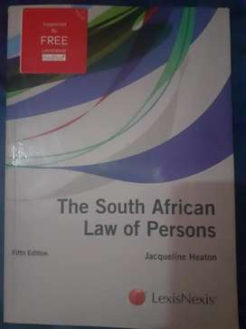 Unisa law of persons prescribed book