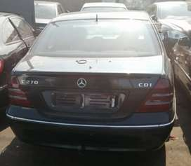 Mercedes Benz W203 stripping for spares.
