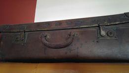 Antyczna torba podróżna walizka