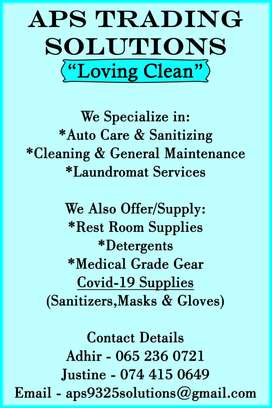 Cleaning of company premises or vehicles