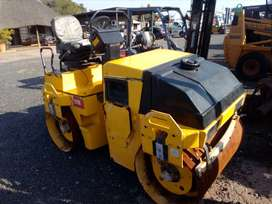 Dynapac 2.6 ton ride on roller