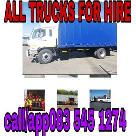ALL TRUCKS AND TRAILERS FOR HIRE