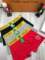 Мужское белье хлопок хб трусы боксеры плавки шортики Кензо Kenzo t040