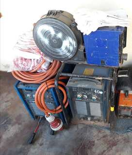 Unipower ATIG400 welding and chain blocks for sale
