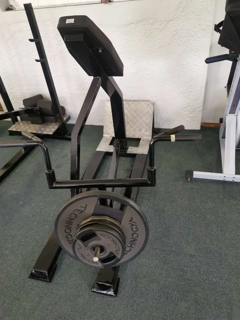 Zest T Bar Row machine like new 0