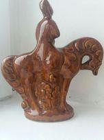 Фарфорова статуетка часів СРСР Козак на коні в ідеальному стані