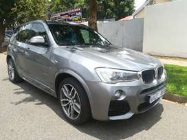 2017 BMW X3 MSPORT 20D AUTOMATIC