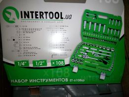 Набор инструментов 108 ед Intertool SemiProfessional
