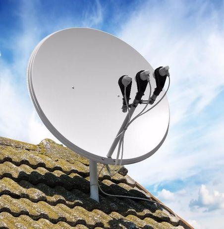Спутниковое ТВ настройка, установка, ремонт.