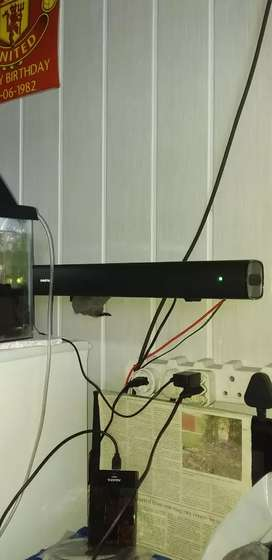 Sinqtec sound bar and sub