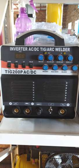 TIG AC/DC IGBT inverter alumium welding machine