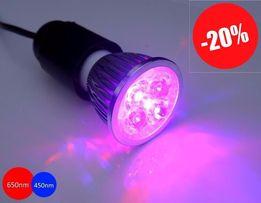 Фитолампа для растений 10Вт (двойной спектр света) - 404 Люкс