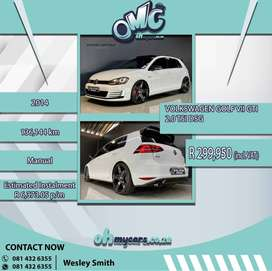 GOLF 7 GTI DSG FINANCE AND INSURANCE AVAILABLE