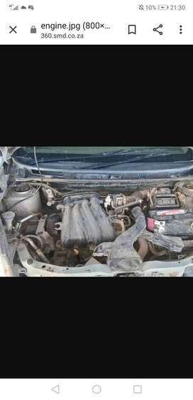 Nissan Livina 1.6 engine and gearbox