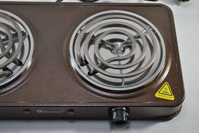 Новая Электроплита электрическая настольная печь /плита Domotec 2000Вт Харьков - изображение 3