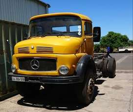 Mercedes 1517 4x4 Turbo Chassis Cab