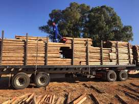 Gum poles and laths