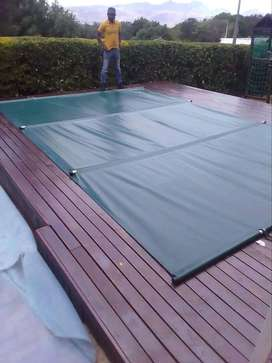 Pool Covers, Safe for Pets and Kids