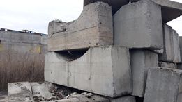 бетонные подставки ( ложемент )
