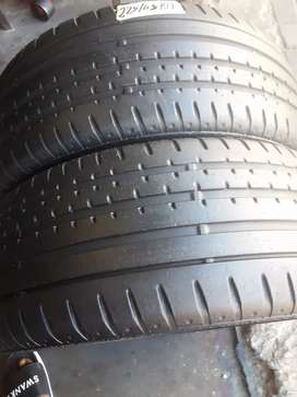 2×225/45/17 Runflat Continental tyres for sale it's available now