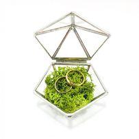 Шкатулка колец обручальных свадебный декор коробочка золотое кольцо