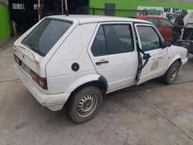 Vw Golf 1 1.4 Stripping For Spares